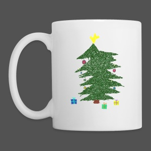 Christmas Kids-Drawing - Tasse