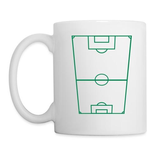 Fotbollsplan - Mugg