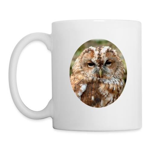 Tawney Owl Head - Mug