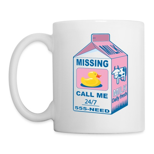 Missing: rubber duck! - Mug