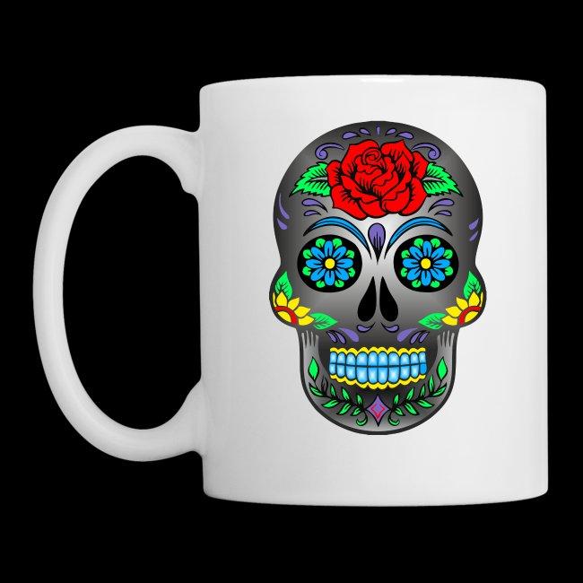 Shisha Nation Mexikanische Totenmaske Tasse