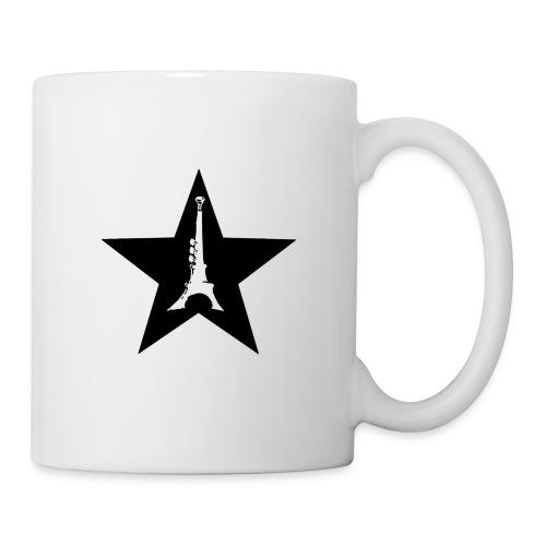 étoilé noir png - Mug blanc