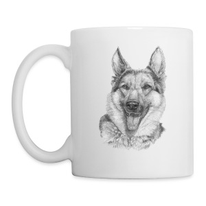 Schæfer German shepherd - Kop/krus