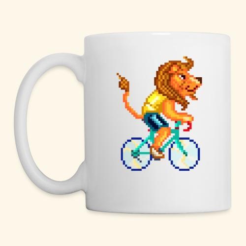 CYCLING LION / LEONE CICLISTA / RADELNDER LÖWE - Tazza