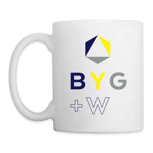 BYG+White Logo Hoodie - Mug
