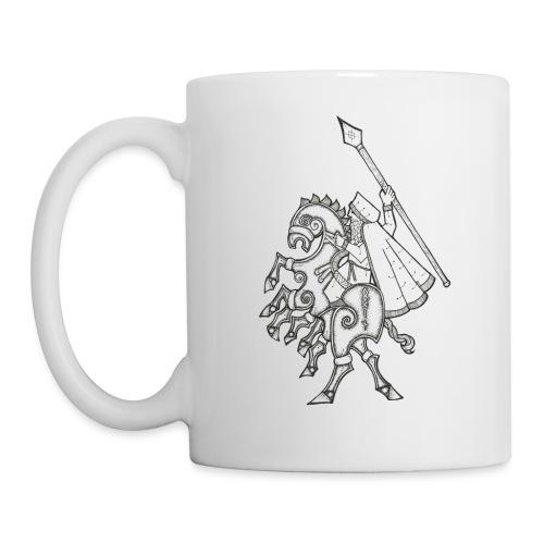 Odin, chevauchant Sleipnir - Mug blanc