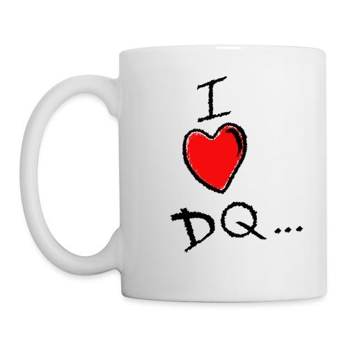 I Heart DQ Logo - Mug