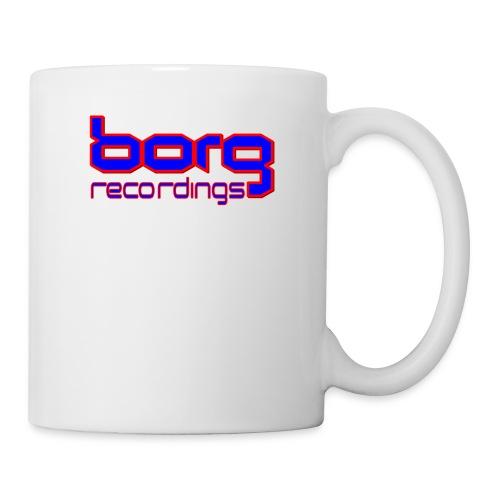 borg txt logo blue - Mug