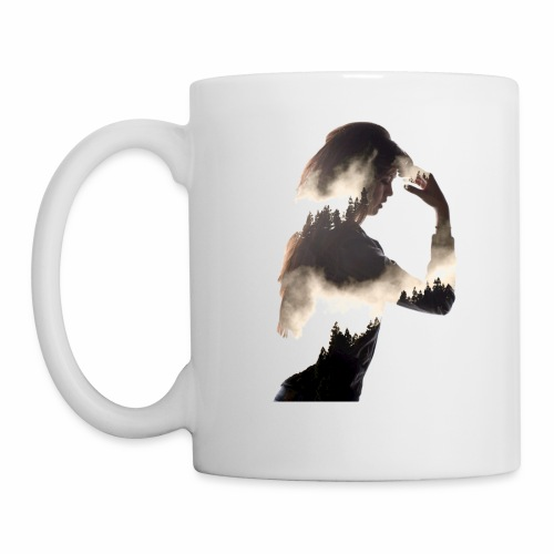 Lady Double Exposure - Mug