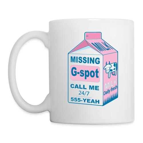 Missing : G-spot - Mug