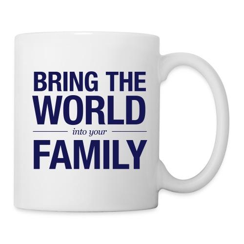Bring the world blue - Mug