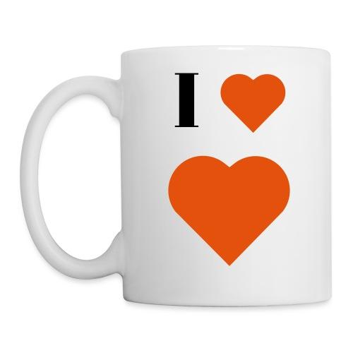 I Heart heart - Mug
