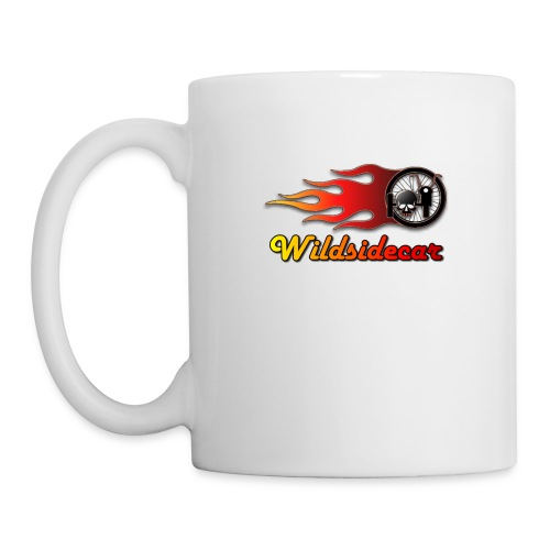 logo wildsidecar sans fond - Mug blanc