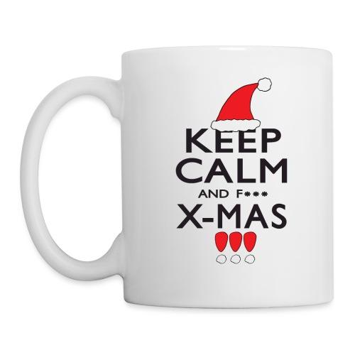 Keep calm XMAS - Tasse
