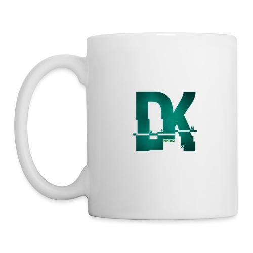 Dk hacked logo tshirt - Mug blanc