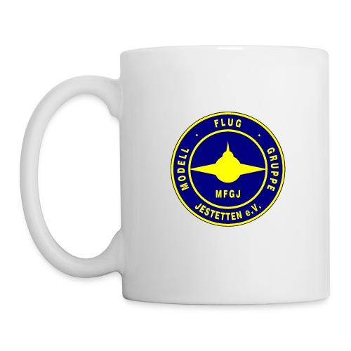 Logo Blau/Gelb - Tasse
