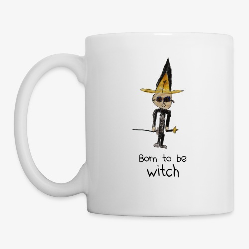 Born to be WITCH - Mug blanc