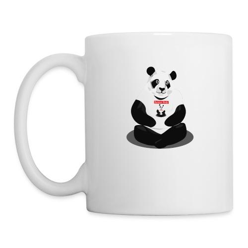 panda hd - Mug blanc