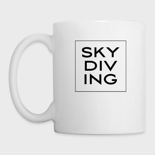 SKY DIV ING Black - Tasse