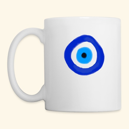 Blue evil eye Water Colour - Mugg