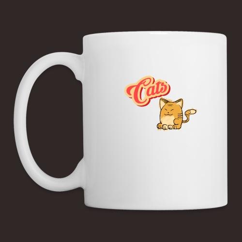 Katze | Katzen süß Schriftzug - Tasse