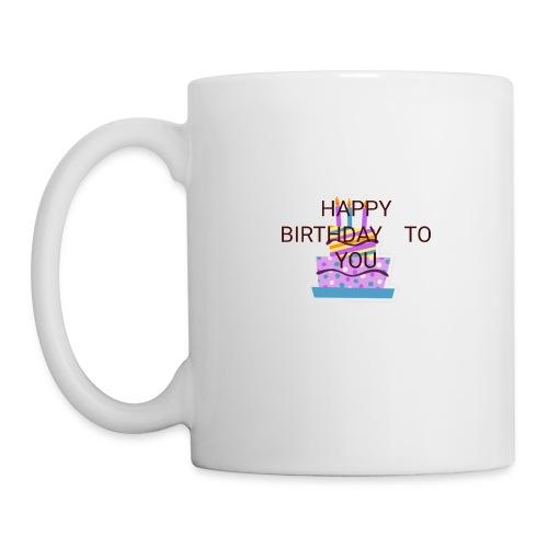 happy birthday 1 - Mug