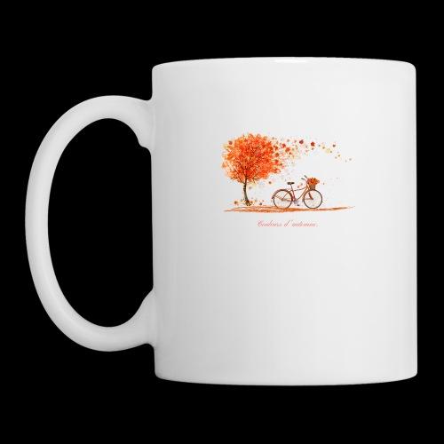 couleurs d'automne - Mug blanc