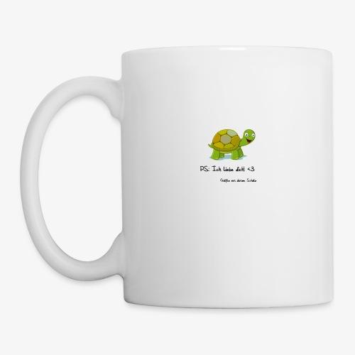 turtle rueckseite - Tasse