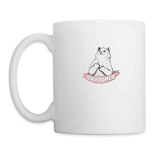 OK Boomer Cat Meme - Mug