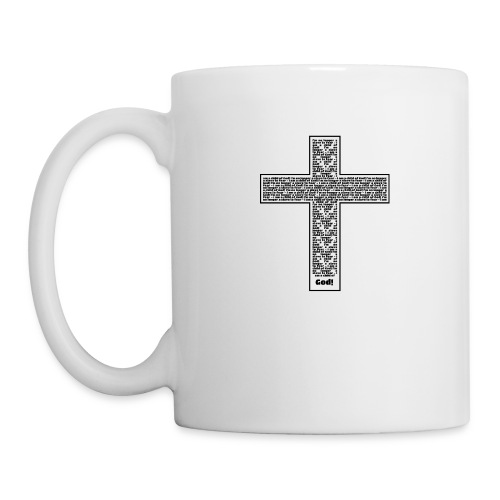 Jesus cross. I'm no longer a slave to fear. - Mug