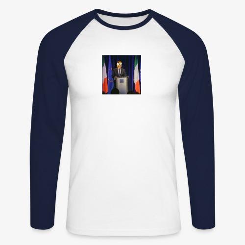 Dean's Memes - Men's Long Sleeve Baseball T-Shirt