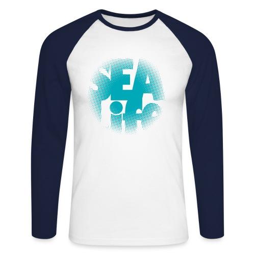 Sealife surfing tees, clothes and gifts FP24R01A - Miesten pitkähihainen baseballpaita