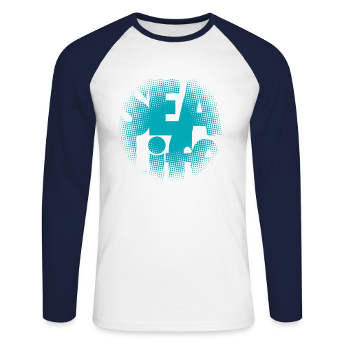 Sealife surfing tees, clothes and gifts FP24R01A - Miesten pitkähihainen baseballpaita