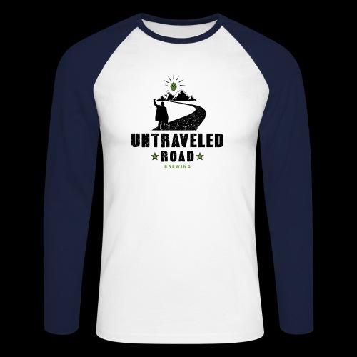 Untraveled Road Logo - black/small - Männer Baseballshirt langarm