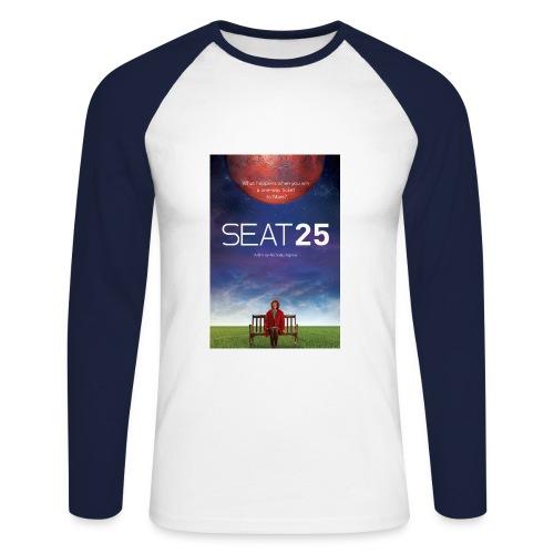Poster - Men's Long Sleeve Baseball T-Shirt