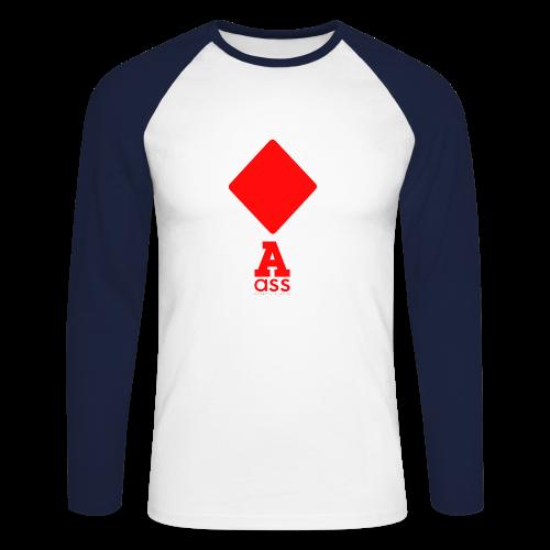KARO ASS - Männer Baseballshirt langarm