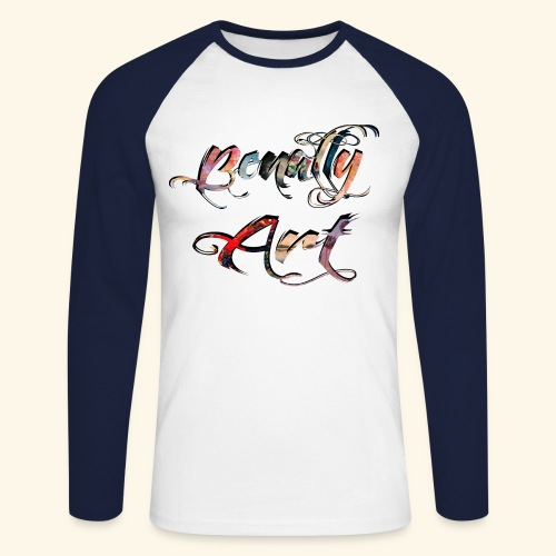 benallyartwirklichschwarz gif - Men's Long Sleeve Baseball T-Shirt