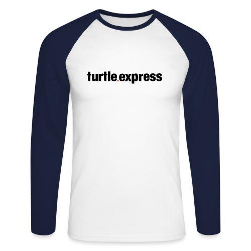 TEX Schriftzug - Männer Baseballshirt langarm