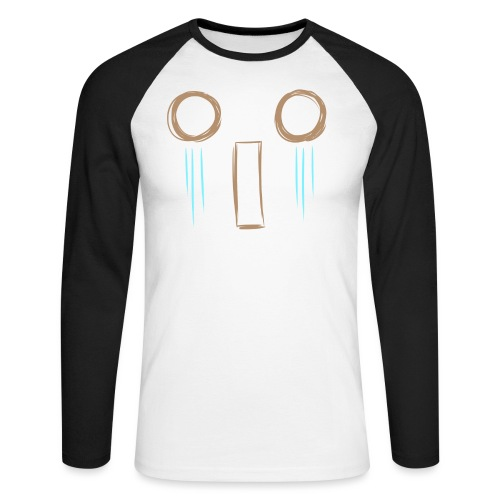 Kawaii_WhattheF_EnChantal - Men's Long Sleeve Baseball T-Shirt