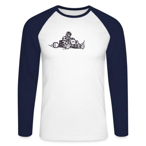 Kart - Männer Baseballshirt langarm
