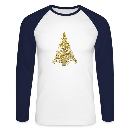 sapin gold (2) - T-shirt baseball manches longues Homme
