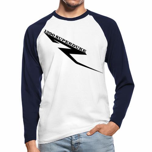 1290 Superduke R/ Dampfhammer V.1 - Männer Baseballshirt langarm