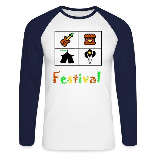 Festival Saison - Männer Baseballshirt langarm