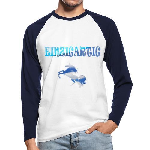 Einzigartig - Männer Baseballshirt langarm