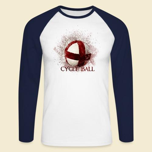 Radball   Cycle Ball - Männer Baseballshirt langarm