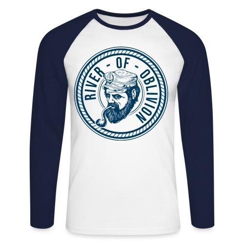RIVER OF OBLIVION - Männer Baseballshirt langarm