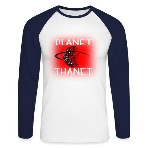 Planet Thanet - Made in Margate - Men's Long Sleeve Baseball T-Shirt