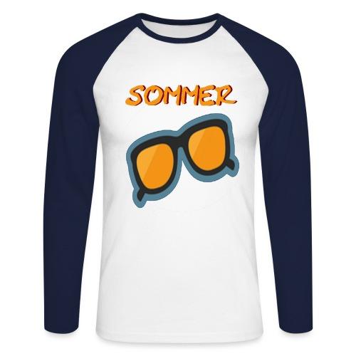 Sommer Sonnenbrille - Männer Baseballshirt langarm