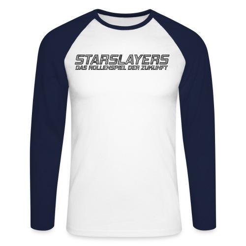 Starslayers Titel - Männer Baseballshirt langarm