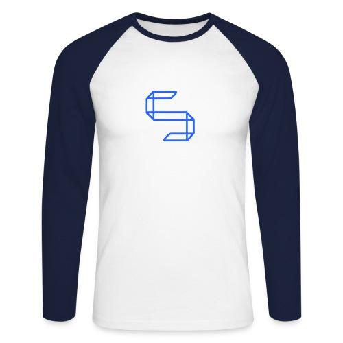 A S A 5 or just A worm? - Mannen baseballshirt lange mouw